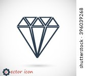 diamond  icon | Shutterstock .eps vector #396039268