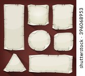 Old Torn Paper Set ...