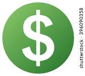 money raster toolbar icon for... | Shutterstock . vector #396090358