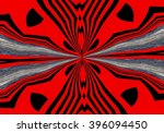 abstract design in red  black... | Shutterstock . vector #396094450