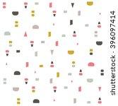 minimalistic seamless pattern. | Shutterstock .eps vector #396097414