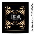 casino logo icon poker cards or ...   Shutterstock .eps vector #396101434