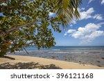 tobago beach. best of tobago... | Shutterstock . vector #396121168