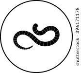 worm symbol   Shutterstock .eps vector #396171178