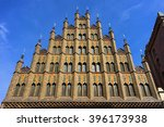 Stock photo old town hall in the center of hannover germany 396173938