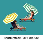 lovely vector illustration on... | Shutterstock .eps vector #396186730
