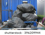 dumpsters being full with...   Shutterstock . vector #396209944