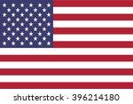 american flag | Shutterstock .eps vector #396214180