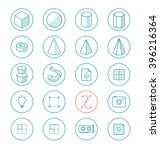 Light Line Icon Set For Drawin...