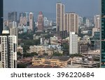 elevated view of mumbai india... | Shutterstock . vector #396220684