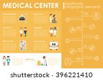 medical center concept hospital ... | Shutterstock .eps vector #396221410