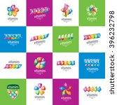 vector logo vitamins | Shutterstock .eps vector #396232798