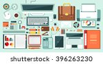 set stock vector illustration... | Shutterstock .eps vector #396263230