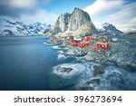 Scenic Town Of Hamnoy By The...
