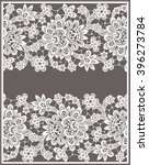 lace card. | Shutterstock .eps vector #396273784