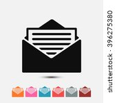 set of  black newsletter vector ...