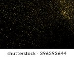 gold glitter texture on a black ... | Shutterstock .eps vector #396293644