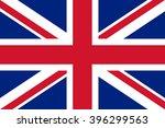 flag of united kingdom | Shutterstock .eps vector #396299563