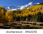 fall in the sneffles range | Shutterstock . vector #3963250