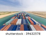 Large Container Vessel Ship...