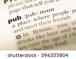 close up of old english... | Shutterstock . vector #396355804