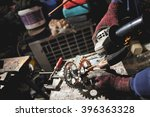 the master in the process of... | Shutterstock . vector #396363328