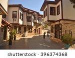 ottoman mansions in historic... | Shutterstock . vector #396374368