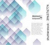 abstract  background with... | Shutterstock .eps vector #396376774