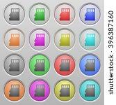 set of micro sd memory card...