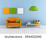 colorful living room with...   Shutterstock . vector #396402040