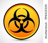 biohazard icon vector jpeg... | Shutterstock .eps vector #396410104