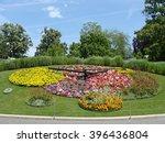 The Flower Clock In Geneva