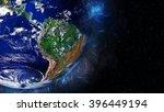 South America Globe Artwork ...