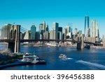 brooklyn bridge in new york city | Shutterstock . vector #396456388