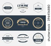 premium quality labels set.... | Shutterstock . vector #396456880