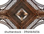 View From Beneath Eiffel Tower...