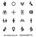 community web icons for user... | Shutterstock .eps vector #396468070