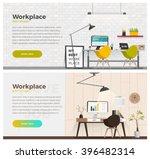 two banner for web design.... | Shutterstock .eps vector #396482314