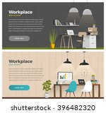 two banner for web design.... | Shutterstock .eps vector #396482320
