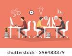 work days. vector illustration | Shutterstock .eps vector #396483379