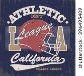 football print vintage... | Shutterstock .eps vector #396495409