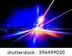 colorful speed motion background | Shutterstock . vector #396499030