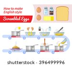 cooking infographics. step by... | Shutterstock .eps vector #396499996