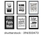 food typographic quotes retro... | Shutterstock .eps vector #396503473