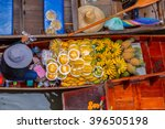 damnoen saduak floating market... | Shutterstock . vector #396505198