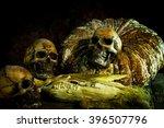 Still Life With Skull And...