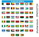 flags of africa | Shutterstock .eps vector #396510724