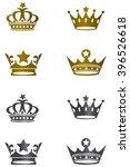 golden   black white isolated... | Shutterstock .eps vector #396526618