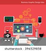 business graphic design  idea | Shutterstock .eps vector #396529858