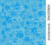 passover seamless pattern... | Shutterstock .eps vector #396550804